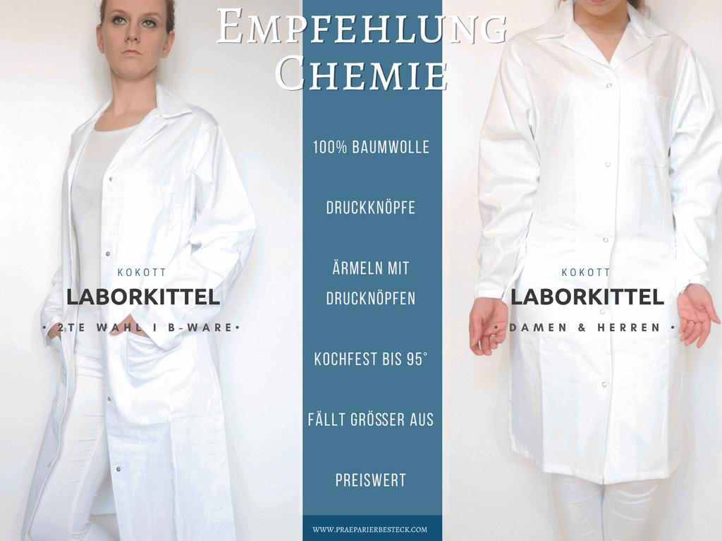 Empfehlung-Chemie-Laborkittel-100%-Baumwolle
