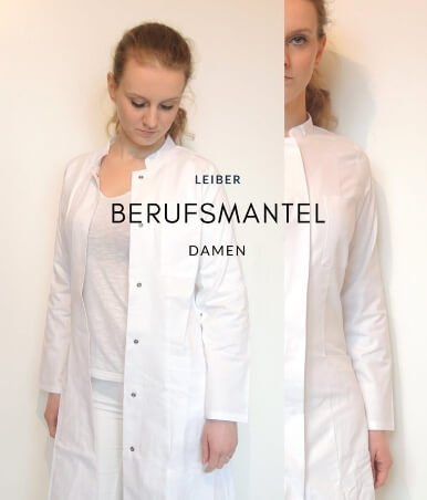 Leiber-Laborkittel-Visitenkittel-Damen-Tailliert-Günstig-Baumwolle