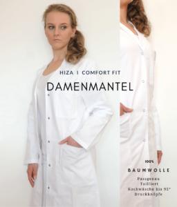 Hiza Damenmantel aus Baumwolle – Testbericht